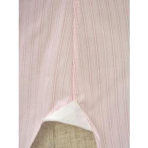 BARBA【バルバ】ドレスシャツ I BRUNO I1U262310821 コットン クレリック ストライプ ピンク×ホワイト cinqueclassico 06
