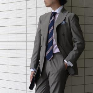 BARBA【バルバ】ドレスシャツ I BRUNO I1U262310821 コットン クレリック ストライプ ピンク×ホワイト cinqueclassico 07