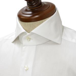 BARBA【バルバ】ドレスシャツ BRUNO I1U262PZ5009U コットン  ピンオックス ホワイト cinqueclassico