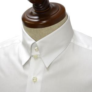 BARBA【バルバ】ドレスシャツ TAB I1U68RPZ5005U コットン ツイル ホワイト|cinqueclassico