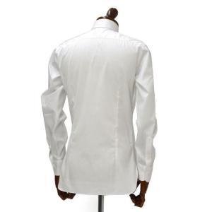 BARBA【バルバ】ドレスシャツ TAB I1U68RPZ5005U コットン ツイル ホワイト|cinqueclassico|03