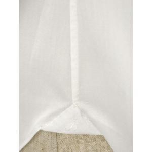 BARBA【バルバ】ドレスシャツ TAB I1U68RPZ5005U コットン ツイル ホワイト|cinqueclassico|05