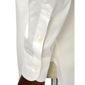 BARBA【バルバ】ドレスシャツ TAB I1U68RPZ5005U コットン ツイル ホワイト|cinqueclassico|06