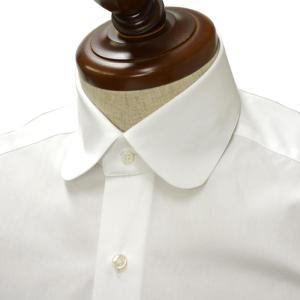 BARBA【バルバ】ドレスシャツ ROUND  I1U59RPZ1800U コットン ブロード ホワイト cinqueclassico