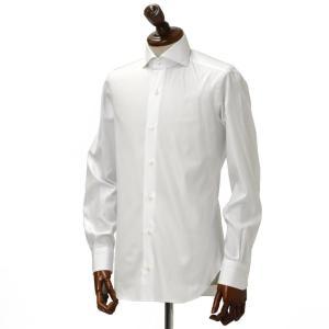 BARBA【バルバ】ドレスシャツ BRUNO I1U262514401U コットン オックスフォード ホワイト cinqueclassico 02