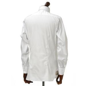 BARBA【バルバ】ドレスシャツ BRUNO I1U262514401U コットン オックスフォード ホワイト cinqueclassico 03