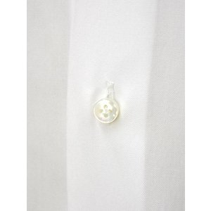BARBA【バルバ】ドレスシャツ BRUNO I1U262514401U コットン オックスフォード ホワイト cinqueclassico 04