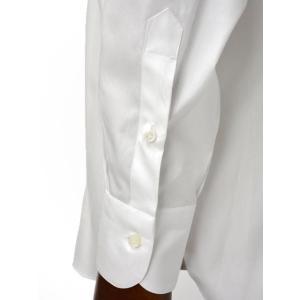 BARBA【バルバ】ドレスシャツ BRUNO I1U262514401U コットン オックスフォード ホワイト cinqueclassico 06