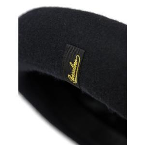 Borsalino 【ボルサリーノ】ベレー帽  B80005 0003133  ウール フェルト ブラック|cinqueclassico|05
