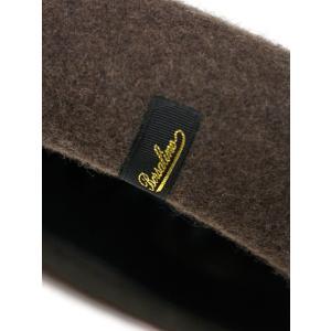 Borsalino 【ボルサリーノ】ベレー帽  B80005 0003113  ウール フェルト ブラウン|cinqueclassico|05