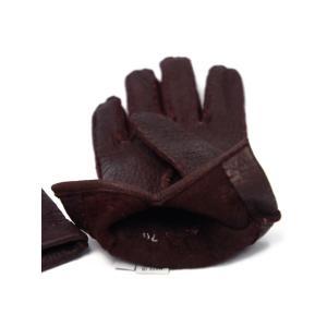 GANTIER CAUSSE【ガンコス/コース】手袋/グローブ H0003 PEC BORDEAUX No lining ボルドー ペッカリー|cinqueclassico|02