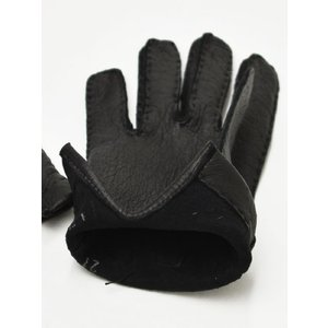 GANTIER CAUSSE【ガンコス/コース】手袋/グローブ H0003 PEC NOIR No lining ブラック ペッカリー|cinqueclassico|02
