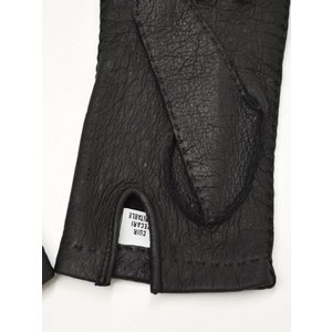GANTIER CAUSSE【ガンコス/コース】手袋/グローブ H0003 PEC NOIR No lining ブラック ペッカリー|cinqueclassico|03
