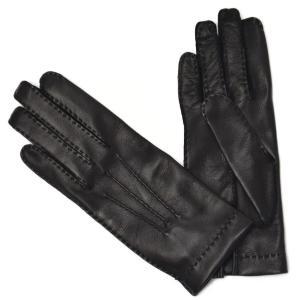 GANTIER CAUSSE【ガンコス/コース】手袋/グローブ H0003 AGN NOIR No lining ブラック ラムナッパレザー|cinqueclassico