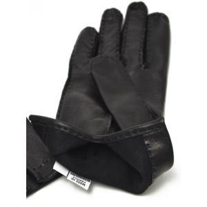 GANTIER CAUSSE【ガンコス/コース】手袋/グローブ H0003 AGN NOIR No lining ブラック ラムナッパレザー|cinqueclassico|02