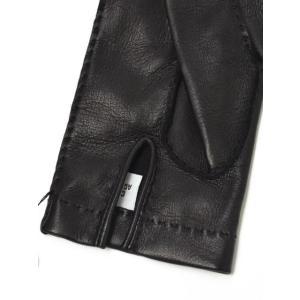 GANTIER CAUSSE【ガンコス/コース】手袋/グローブ H0003 AGN NOIR No lining ブラック ラムナッパレザー|cinqueclassico|03