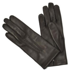 GANTIER CAUSSE【ガンコス/コース】手袋/グローブ H0003 AGN MARRON No lining ダークブラウン ラムナッパレザー|cinqueclassico
