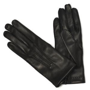 GANTIER CAUSSE【ガンコス/コース】手袋/グローブ H0003 AGN MARINE No lining ネイビー ラムナッパレザー|cinqueclassico