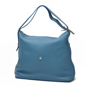 CHAMBORD SELLIER【シャンボールセリエ】2way Shoulder bag  LOCHES LAGUN CH510 DRAGEE FIL ECRUショルダーバッグ  ラグーン ターコイズ|cinqueclassico