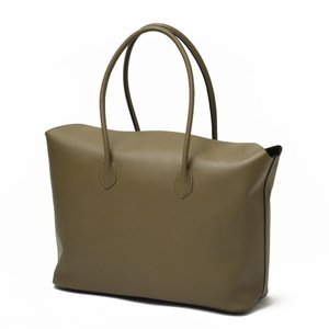 CISEI【チセイ/シセイ】トートバッグ Tote bag 1190 LM KHAKI スムースレザー カーキ|cinqueclassico