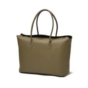 CISEI【チセイ/シセイ】トートバッグ Tote bag 1190 LM KHAKI スムースレザー カーキ|cinqueclassico|03