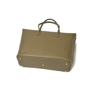CISEI【チセイ/シセイ】トートバッグ Tote bag 1190 LM KHAKI スムースレザー カーキ|cinqueclassico|04