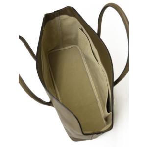 CISEI【チセイ/シセイ】トートバッグ Tote bag 1190 LM KHAKI スムースレザー カーキ|cinqueclassico|05