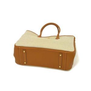 CISEI【チセイ/シセイ】トートバッグ Tote bag 906 LD/CANVAS MARRONE×BEIGE リンドス キャンバス ブラウン×ベージュ|cinqueclassico|04