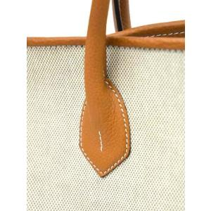 CISEI【チセイ/シセイ】トートバッグ Tote bag 906 LD/CANVAS MARRONE×BEIGE リンドス キャンバス ブラウン×ベージュ|cinqueclassico|06