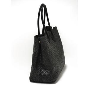CISEI【チセイ/シセイ】トートバッグ Tote bag 941XM NERO イントレチャート ブラック|cinqueclassico|02