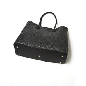 CISEI【チセイ/シセイ】トートバッグ Tote bag 941XM NERO イントレチャート ブラック|cinqueclassico|03