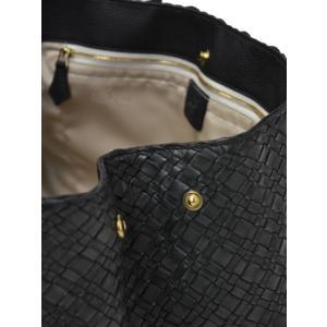 CISEI【チセイ/シセイ】トートバッグ Tote bag 941XM NERO イントレチャート ブラック|cinqueclassico|05