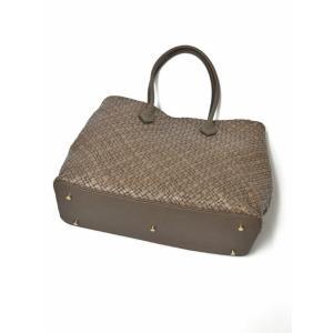 CISEI【チセイ/シセイ】トートバッグ Tote bag 941 XM LINDOS FANGO イントレチャート トートバッグ グレージュ cinqueclassico 03