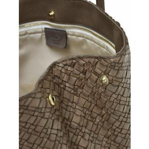 CISEI【チセイ/シセイ】トートバッグ Tote bag 941 XM LINDOS FANGO イントレチャート トートバッグ グレージュ cinqueclassico 05