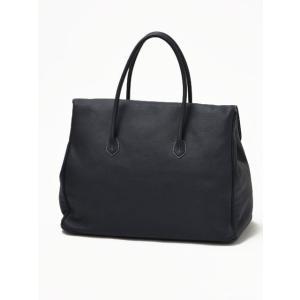 CISEI【チセイ/シセイ】フラップ付きトートバッグ Tote bag 983 LD NAVY シボ革 ネイビー|cinqueclassico|03