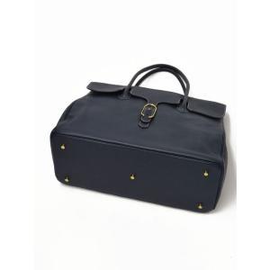 CISEI【チセイ/シセイ】フラップ付きトートバッグ Tote bag 983 LD NAVY シボ革 ネイビー|cinqueclassico|04