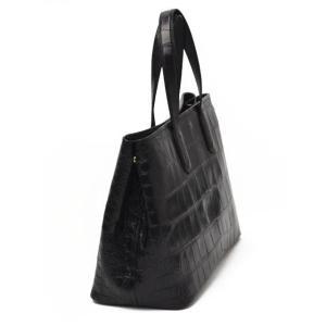 CISEI【チセイ/シセイ】CROCODILE  BLACK クロコダイル  トートバッグ ブラック|cinqueclassico|02