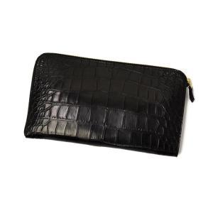 CISEI【チセイ/シセイ】CROCODILE clutch bag BLACK (クロコダイル  クラッチバッグ ブラック)|cinqueclassico