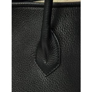 CISEI【チセイ/シセイ】トートバッグ Tote bag 941 LINDOS NERO シボ革 ブラック|cinqueclassico|07