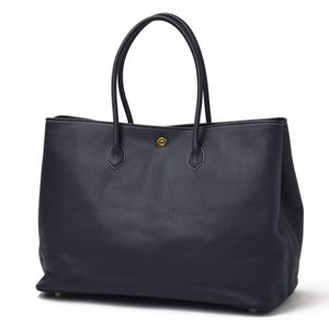 CISEI【チセイ/シセイ】トートバッグ Tote bag 941 LINDOS NAVY シボ革 ネイビー|cinqueclassico