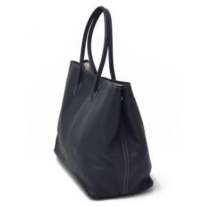CISEI【チセイ/シセイ】トートバッグ Tote bag 941 LINDOS NAVY シボ革 ネイビー|cinqueclassico|02
