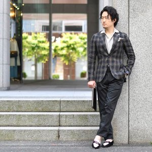 CISEI【チセイ/シセイ】934B MF NERO シボ革  クラッチバッグ ブラック cinqueclassico 08