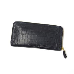 【ご予約 納期2ヶ月】CISEI【チセイ/シセイ】CROCODILE zip wallet (クロコダイル  ジップウォレット)|cinqueclassico