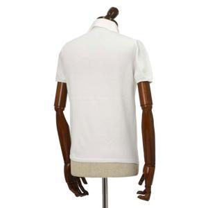 Cruciani【クルチアーニ】ニットポロシャツ CU285.GP30 28804  コットン ホワイト|cinqueclassico|02
