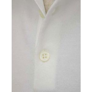 Cruciani【クルチアーニ】ニットポロシャツ CU285.GP30 28804  コットン ホワイト|cinqueclassico|04