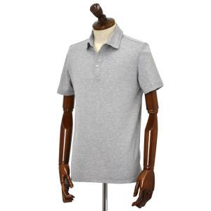 Cruciani【クルチアーニ】ポロシャツ JF826PC GRIGGIO コットン ジャージー グレー|cinqueclassico