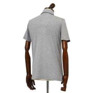 Cruciani【クルチアーニ】ポロシャツ JF826PC GRIGGIO コットン ジャージー グレー|cinqueclassico|02