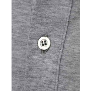 Cruciani【クルチアーニ】ポロシャツ JF826PC GRIGGIO コットン ジャージー グレー|cinqueclassico|04