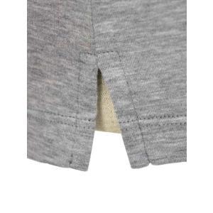 Cruciani【クルチアーニ】ポロシャツ JF826PC GRIGGIO コットン ジャージー グレー|cinqueclassico|05