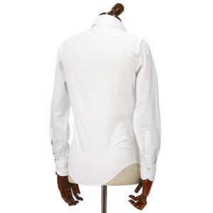 Finamore【フィナモレ】シャツ PIERO VERONA 840200 1 コットン ツイル ホワイト|cinqueclassico|03